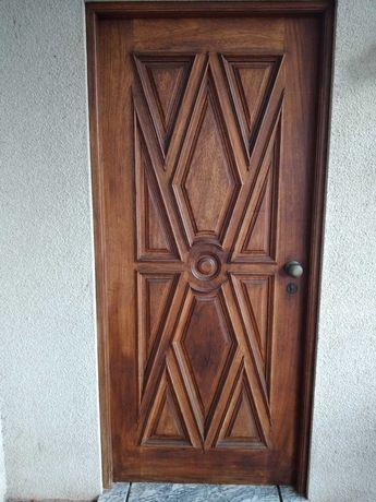 Porta madeira exterior