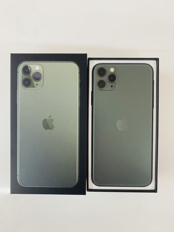 iPhone 11 Pro Max 64gb Midnight Green Neverlock DUAL SIM