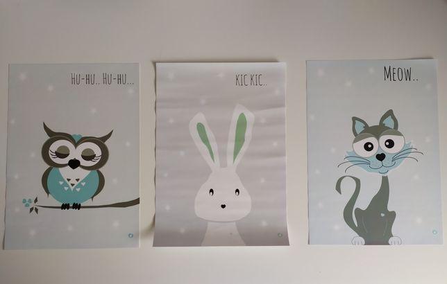 Obrazki plakaty dla dzieci