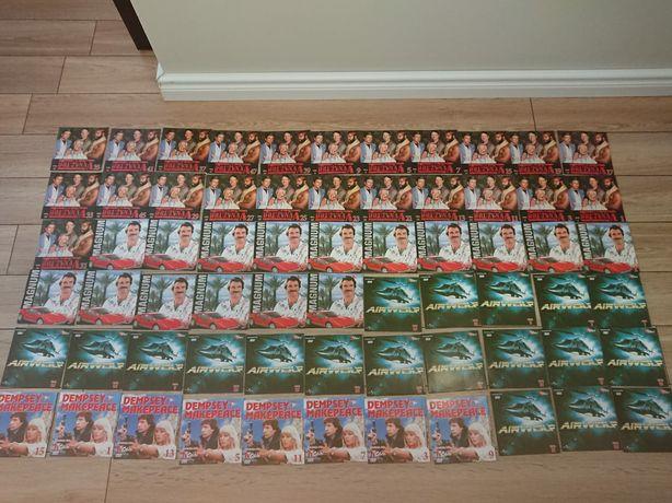 Puste okładki-koperty bez płyty DVD.