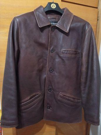 Мужская кожаная теплая куртка B.COAST р.52