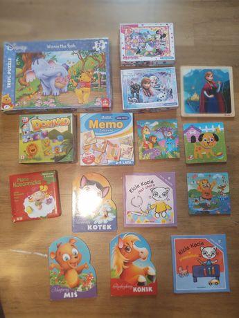 Puzzle i książeczki