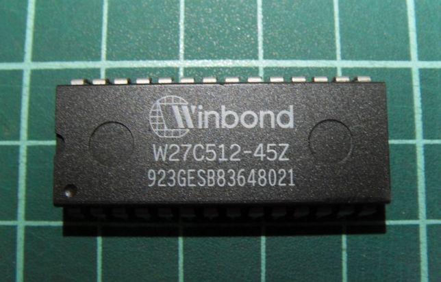 Память ПЗУ EEPROM 64kx8 W27C512-45Z PDIP-28