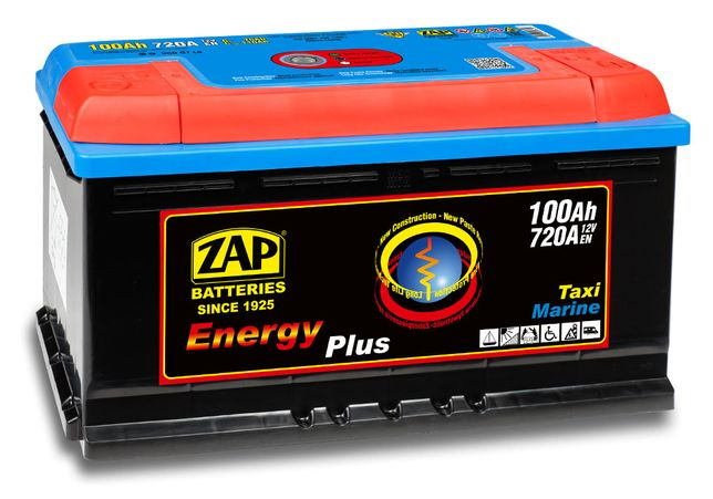 Akumulator ZAP 100Ah ENERGY Akumulatory głębokiego rozładowania hobby
