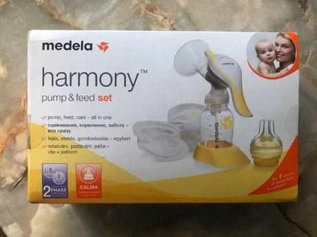 Молоковідсмоктувач (молокоотсос) Medela harmony