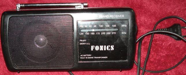 Radio przenośne Fonics.