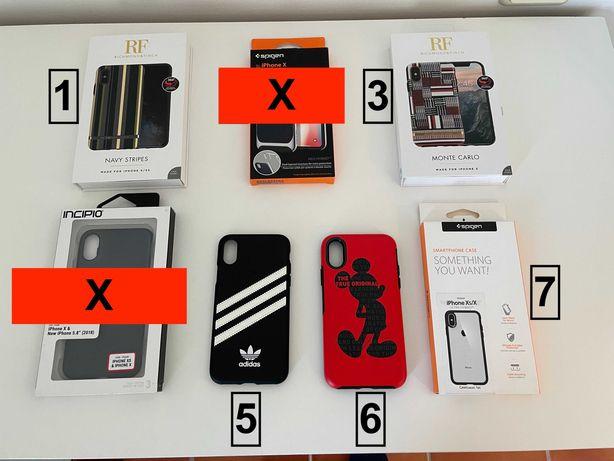 Capas Iphone X/XS NOVAS e ORIGINAIS (Adidas/Spigen/Otterbox)