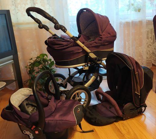 Wózek 3w1 Espiro fioletowy