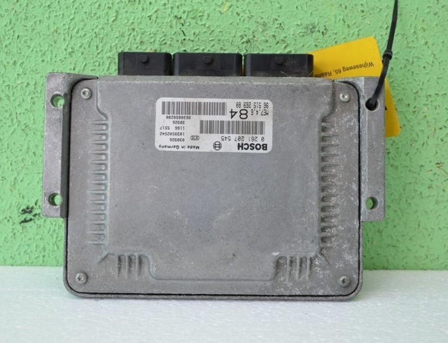 Komputer Sterownik Silnika PEUGEOT 807 CITROEN C8 3.0 V6 Jadowniki - image 1