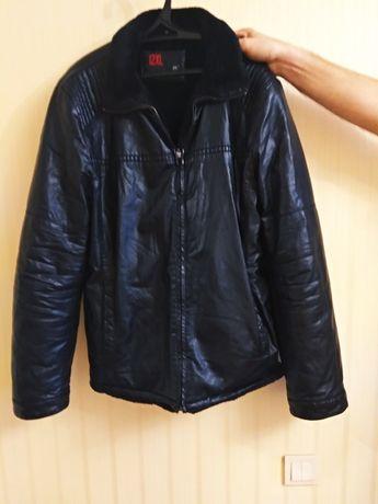Продам куртку мужскую кожа