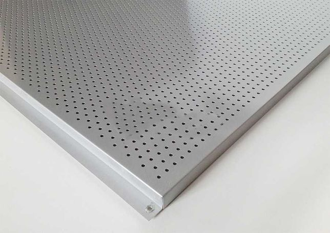 Потолок Alubest подвесной кассет. А6/600х600 мм 907 металлик