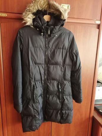 Czarne kurtki zimowe Diverse