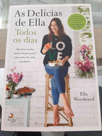 COMO NOVO-COM PORTES-As Delícias de Ella,Todos os dias-Ella Woodward