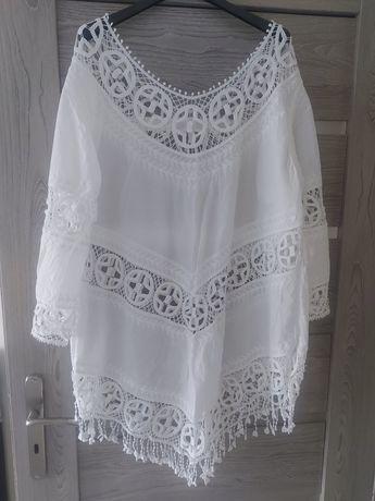 Tunika,sukienka biała