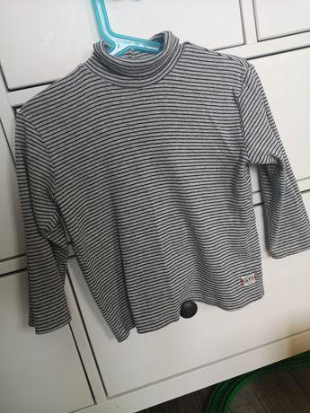 Golfik koszulka bluzka zara 98