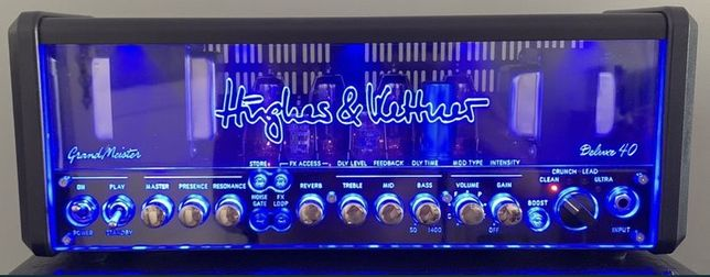 Amplificador Hughes & Kettner + Vários Pedais