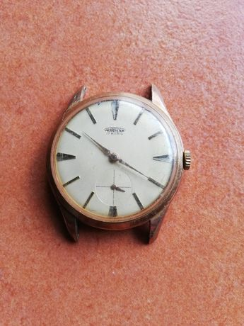 Relógio antigo aureol 17 rubis