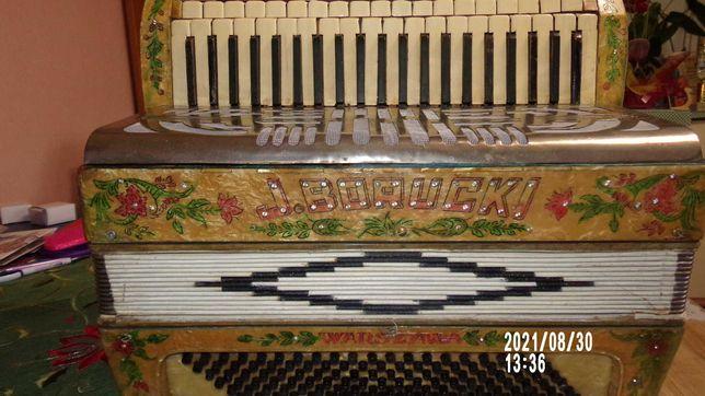 akordeon zabytek Józef Borucki Warszawa