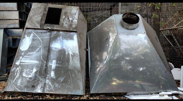Зонти вентиляційні витяжні з оцинкованої та НЖ нержавіючої сталі Б / У