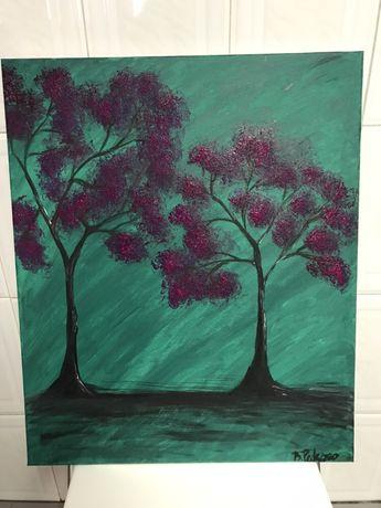 """Quadro """" Pink florest """""""