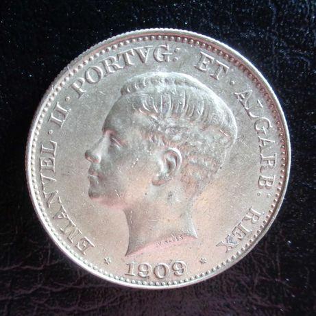 500 Réis Prata 1909 D. Manuel II
