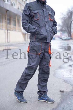 Полукомбинезон /Куртка рабочая/ Брюки защитные FORECO рабочий костюм