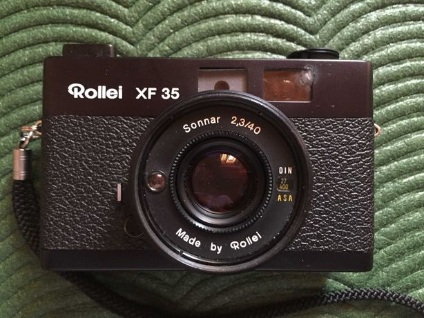 Rollei XF35, Sonnar 40mm F2.3, фотоаппарат пленочный, снизил цену