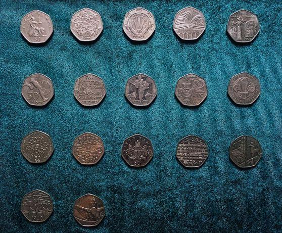 Ювілейні монети. Велика Британія. 50 пенсів.