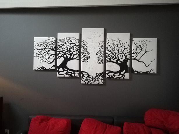 obraz drzewa( twarze)