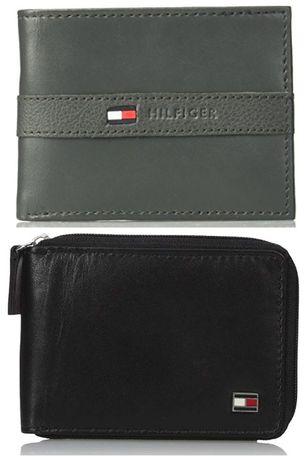Кошелек Tommy Hilfiger оригинал кожаный портмоне Томми Хилфигер США