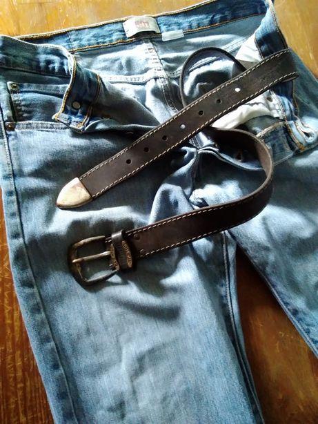Spodnie Levi's 501 WPL 423 + pasek do spodni Winchester