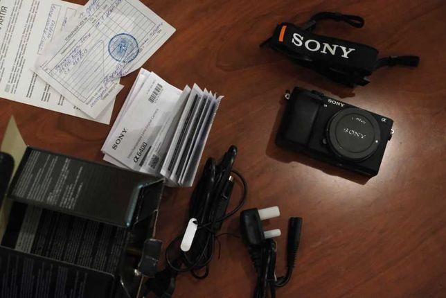 Фотоаппарат Sony A6400 body НА ГАРАНТИИ