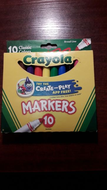 Продам фламастеры Crayola из с.ш.а.