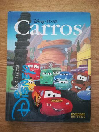 """Livro """"Carros"""" da Pixar 112 pág."""
