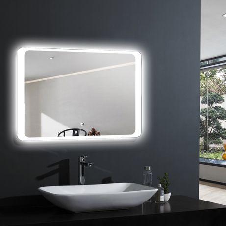 Зеркало с LED подсветкой.Шкафы для ванной комнаты.