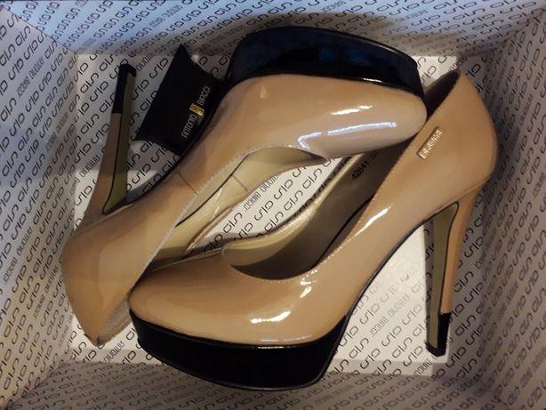 Туфли Antonio Biaggi 39 р., натуральная кожа