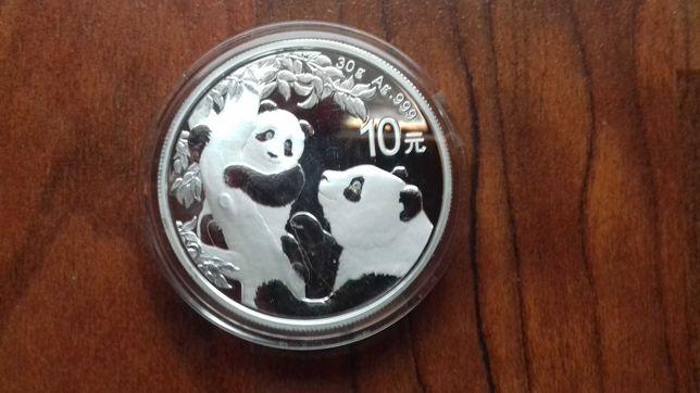 "Moeda Onça ""Panda"" 2021 - China"