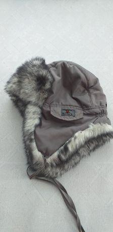 Шапка-ушанка зимова