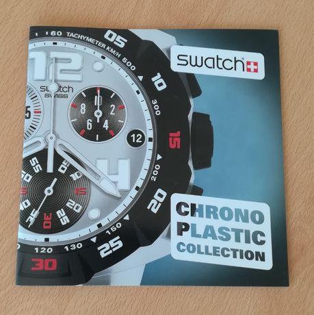 "Catálogo Swatch ""Chrono Plastic Collection"""