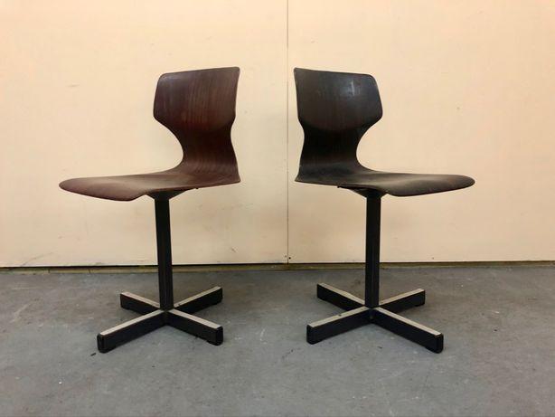 Para krzeseł Flototto vintage DESIGN modern BAUHAUS chrom
