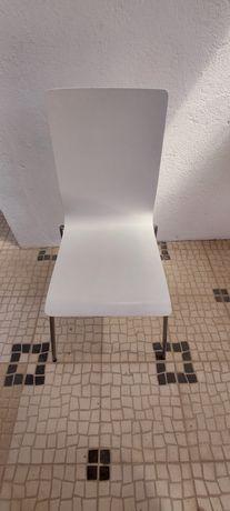 2 Cadeiras brancas ikea