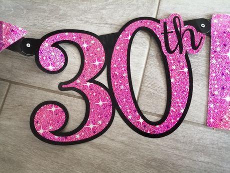Napis na 30ste urodziny