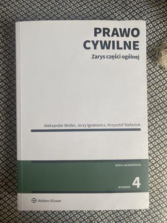 Prawo Cywilne Zarys części ogólnej Wydanie 4 2020 Wolter Aleksander,