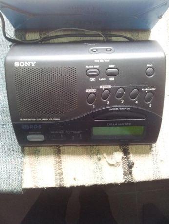 Rádio relógio despertador Sony digital com RDS a bom preço