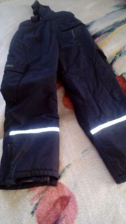 spodnie młodzieżowe ocieplane