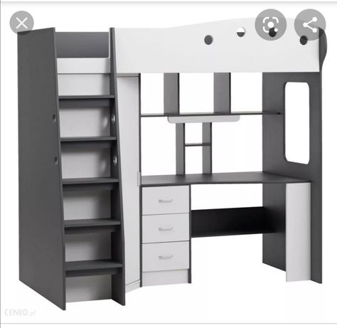Sprzedam łóżko piętrowe z biurkiem