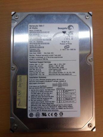 Жесткий диск HDD Seagate Barracuda 40 Gb