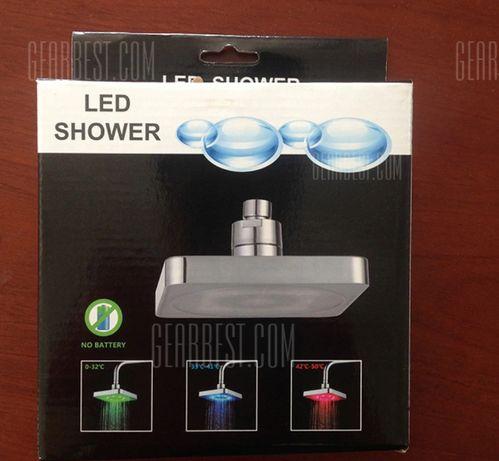Cabeça de Chuveiro com LEDS ( oferta do 2 chuveiro)