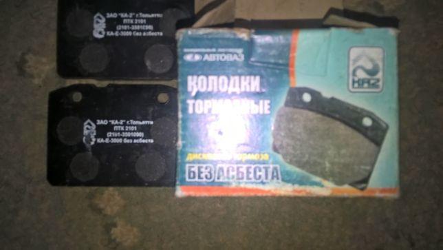 Тормозные колодки ВАЗ 2101-07