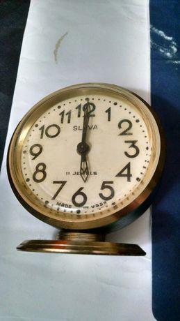 Часы будильник SLAVA